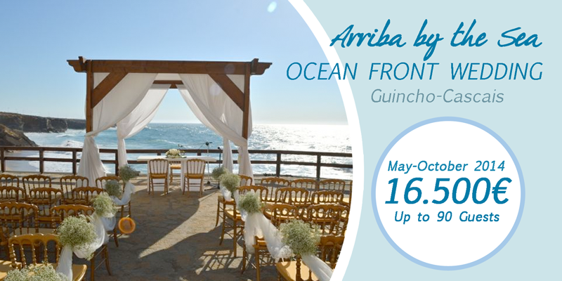 arriba by the sea weddings